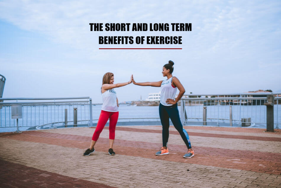 Long-term benefits of exercise
