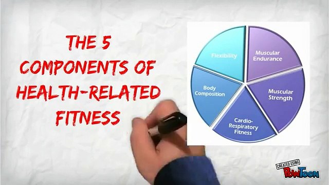 What are the 5 components of fitness
